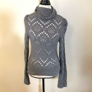 Free People Gray Sweater